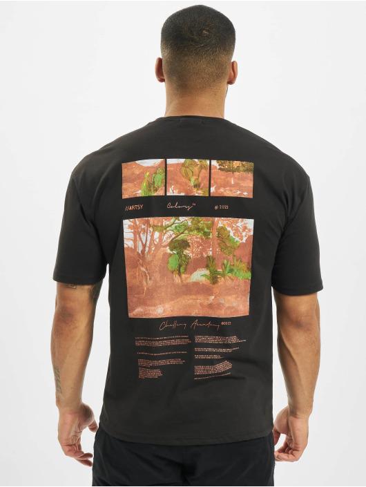 Aarhon T-Shirt Rotate schwarz