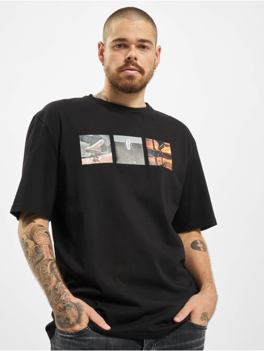 Aarhon T-Shirt F Off schwarz