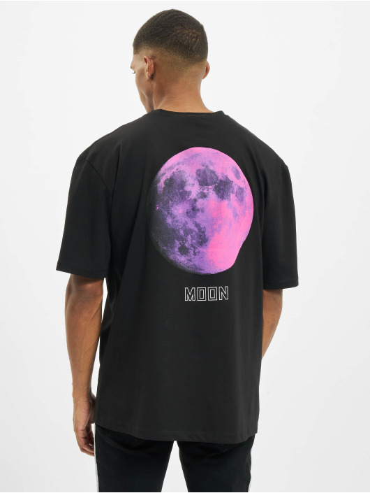 Aarhon T-Shirt Moon schwarz