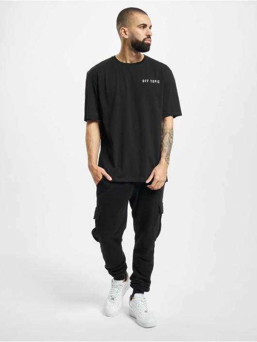 Aarhon T-Shirt Off Topic schwarz
