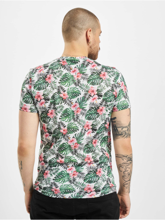 Aarhon T-shirt Floral vit
