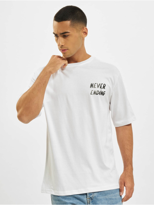 Aarhon T-shirt Never Ending vit