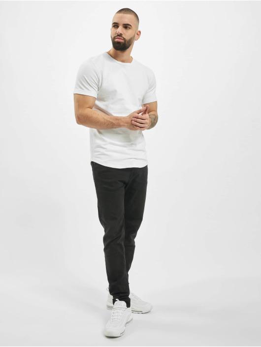 Aarhon T-Shirt Plain weiß