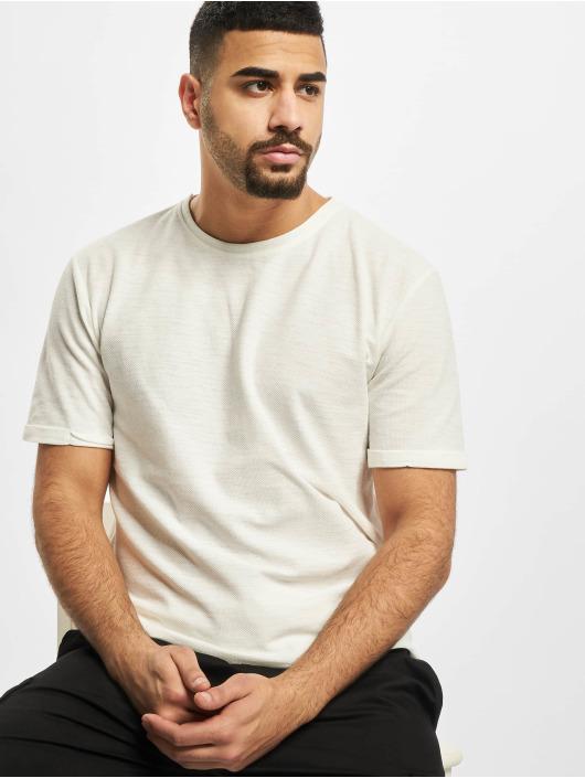 Aarhon T-Shirt Uni weiß