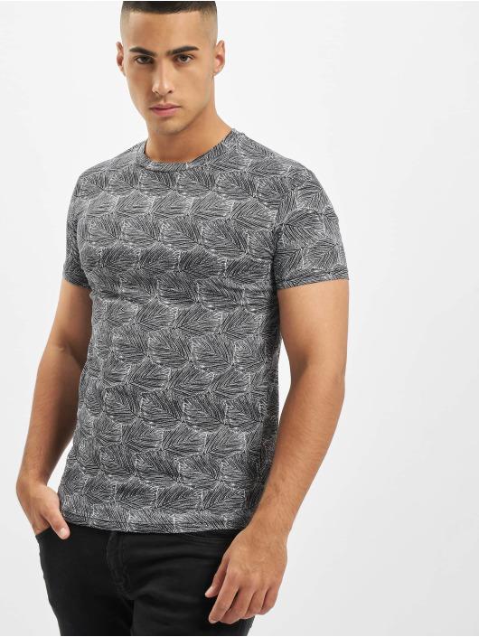 Aarhon T-Shirt Panel weiß