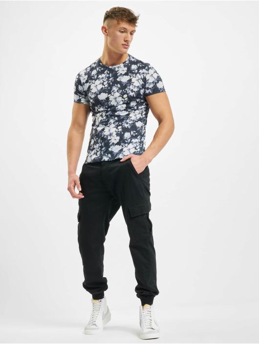 Aarhon T-Shirt Florals weiß