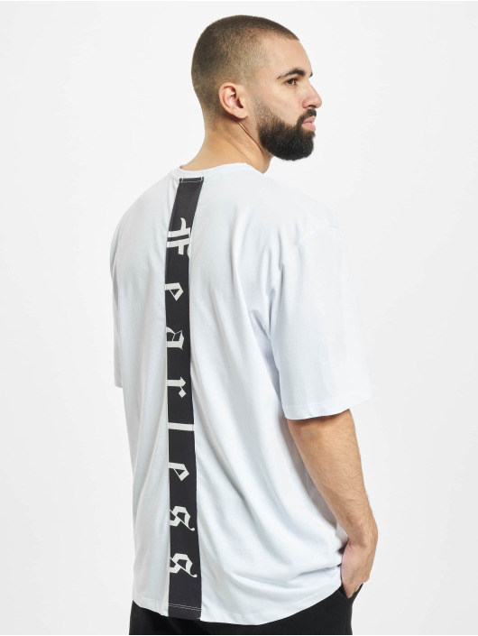 Aarhon T-Shirt Fearless white