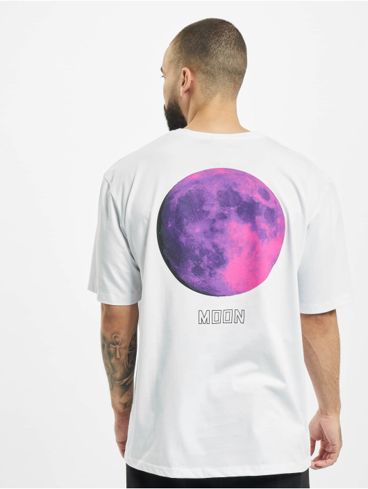 Aarhon t-shirt Moon wit