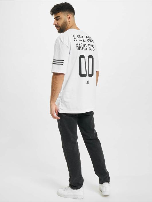 Aarhon t-shirt Backprint wit