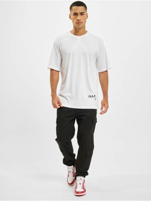 Aarhon t-shirt Mars wit