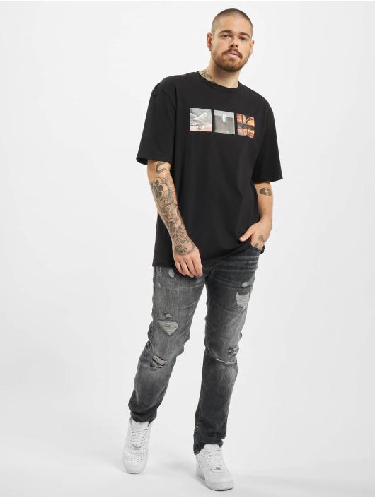 Aarhon t-shirt F Off zwart