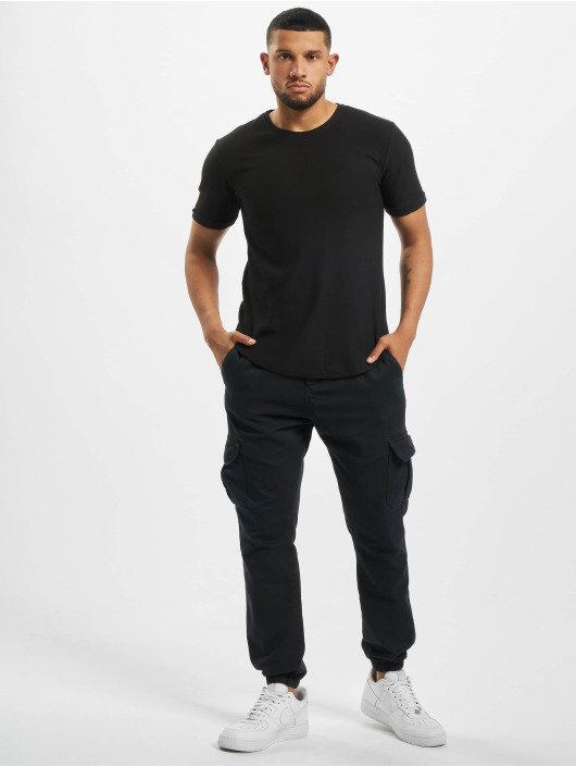 Aarhon t-shirt Oversized zwart