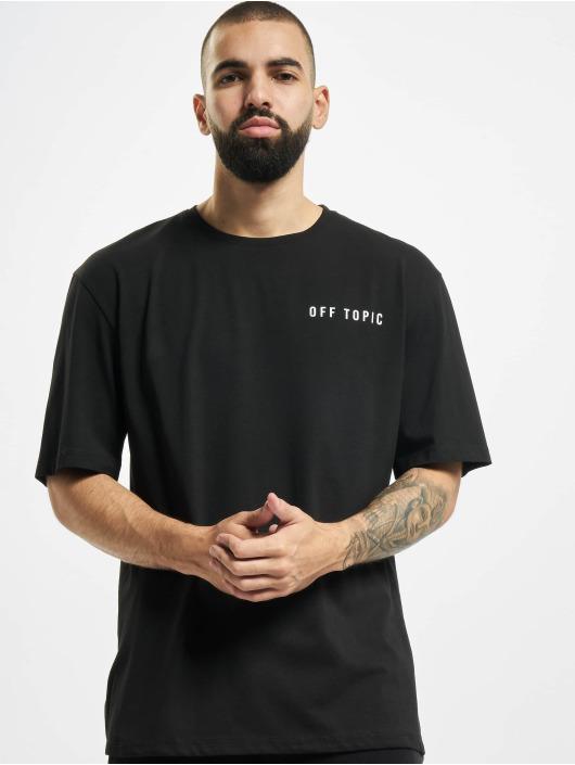 Aarhon t-shirt Off Topic zwart