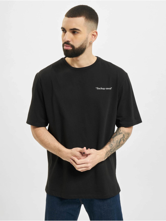 Aarhon t-shirt Visual zwart