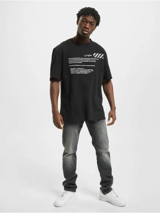 Aarhon t-shirt Code zwart