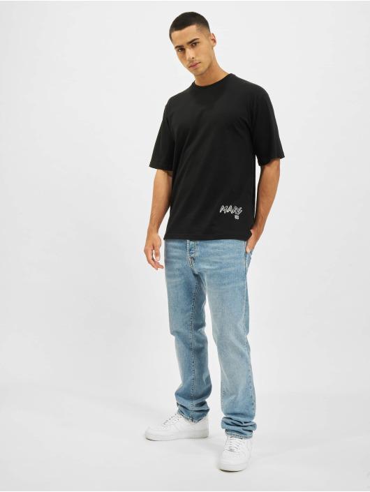 Aarhon t-shirt Mars zwart