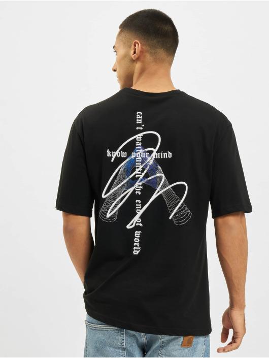 Aarhon t-shirt Know Your Mind zwart