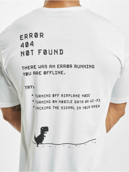 Aarhon T-Shirty Error bialy