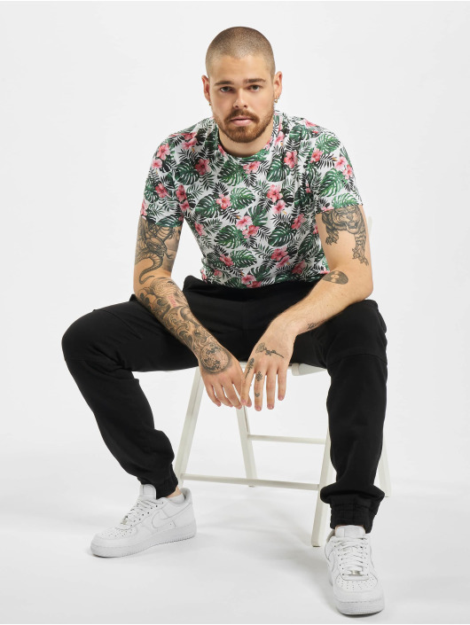 Aarhon T-Shirty Floral bialy