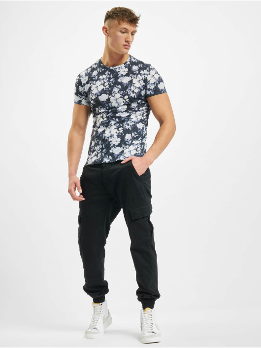 Aarhon T-Shirty Florals bialy