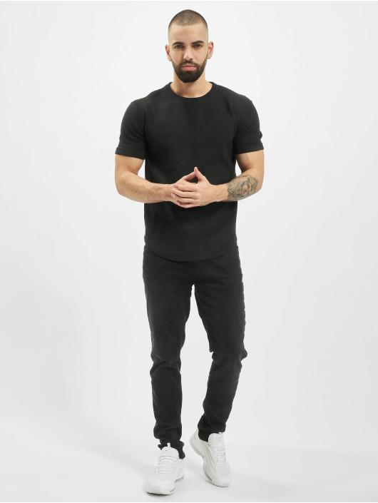 Aarhon T-Shirty Structure czarny