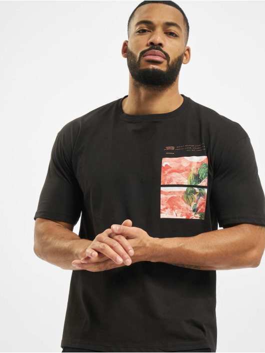 Aarhon T-Shirty Rotate czarny