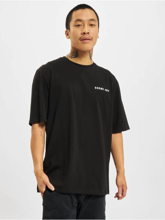 Aarhon T-Shirty Error czarny