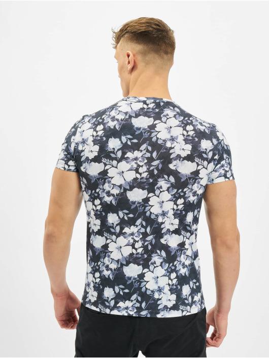 Aarhon T-skjorter Florals hvit