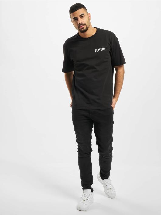 Aarhon T-skjorter Players svart