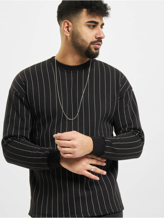 Aarhon trui Pinstripe zwart