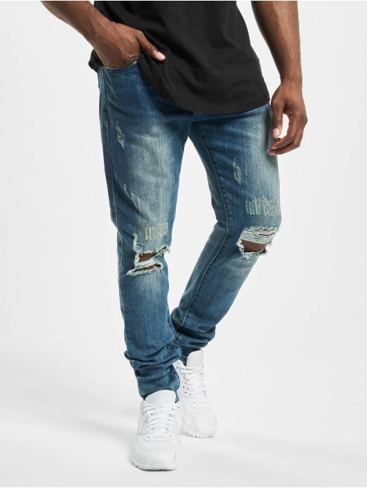 Aarhon Tynne bukser Cuts Out blå