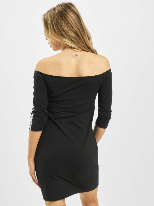 adidas Originals Šaty Shoulder čern