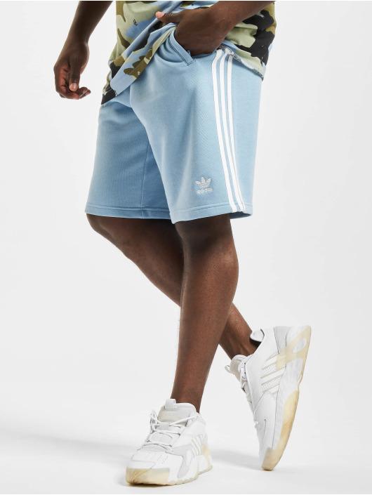 adidas Originals Šortky 3-Stripe modrý
