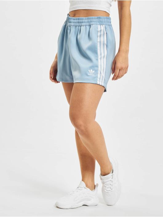adidas Originals Šortky Satin modrý