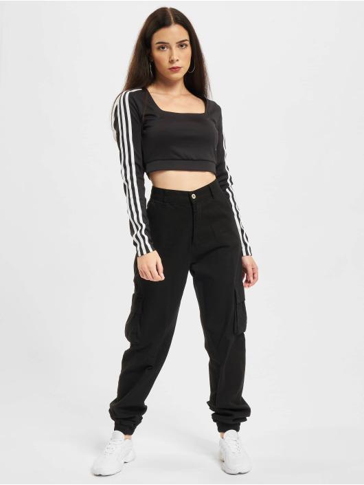 adidas Originals Водолазка Long Sleeve черный