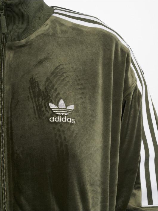 adidas originals Демисезонная куртка Transition зеленый