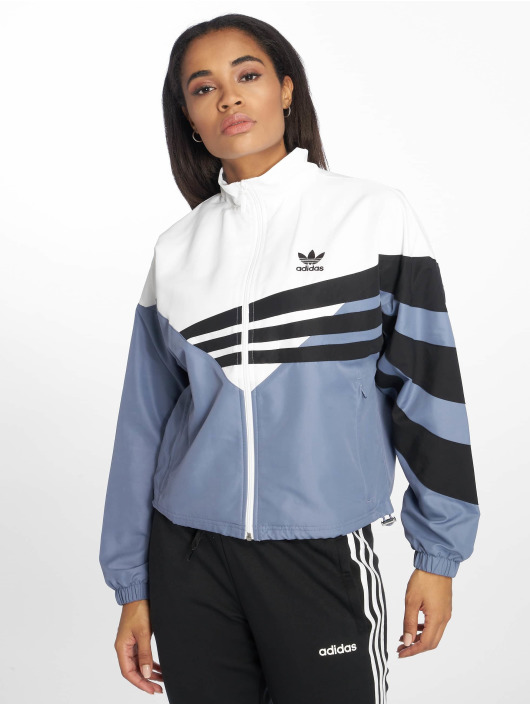 adidas originals Демисезонная куртка Track индиго