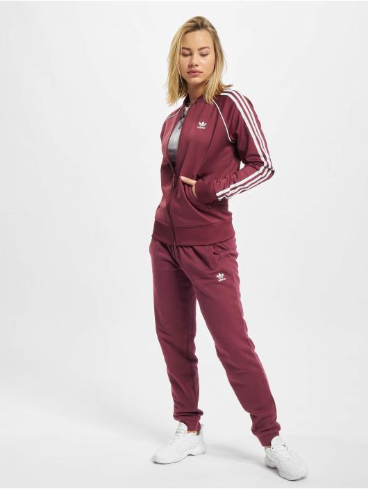 adidas Originals Демисезонная куртка SST красный