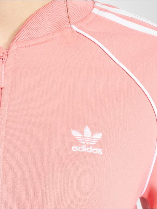 adidas originals Демисезонная куртка Sst Tt Transition розовый