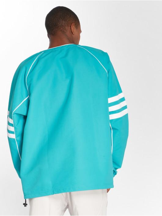 adidas originals Демисезонная куртка Auth Wvn Tunic синий