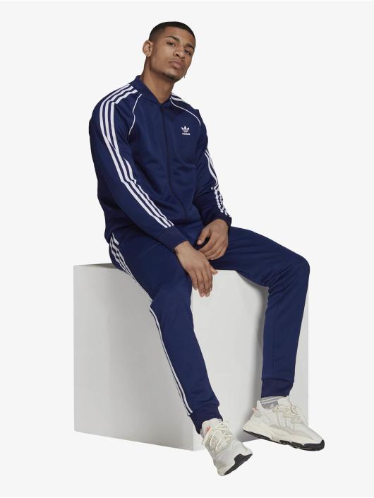 adidas Originals Демисезонная куртка SST Blue синий