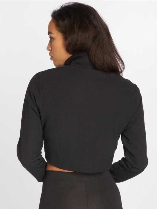 adidas originals Демисезонная куртка Originals Track Top черный