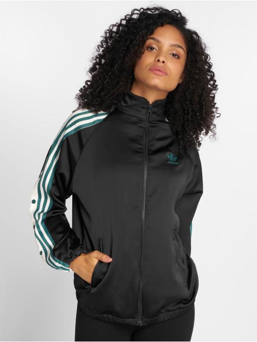adidas originals Демисезонная куртка Track Top Satin черный