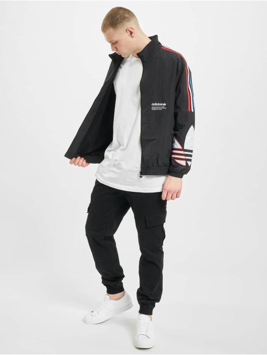 adidas Originals Демисезонная куртка Tricolor черный
