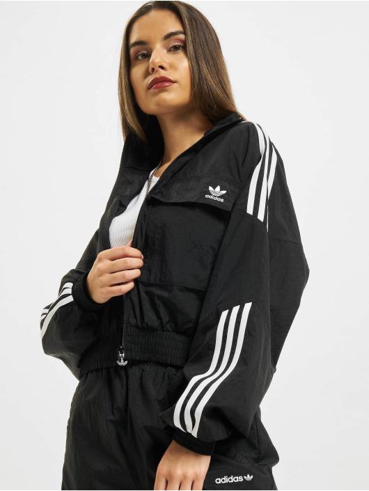 adidas Originals Демисезонная куртка Disrupted Icon черный