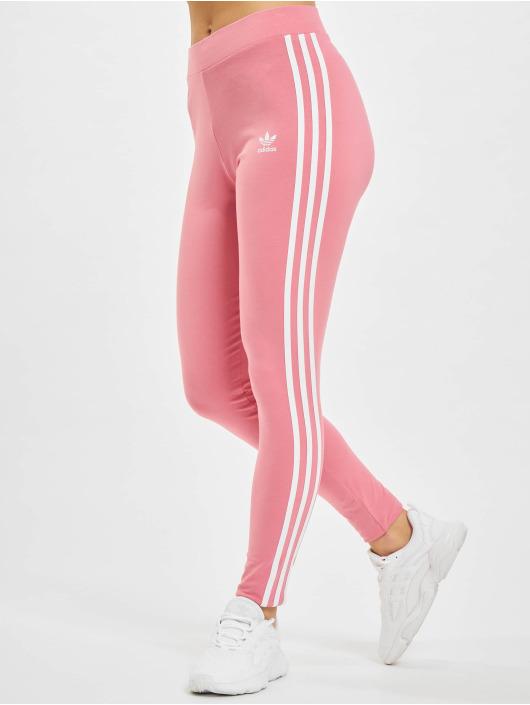 adidas Originals Леггинсы 3 Stripes розовый