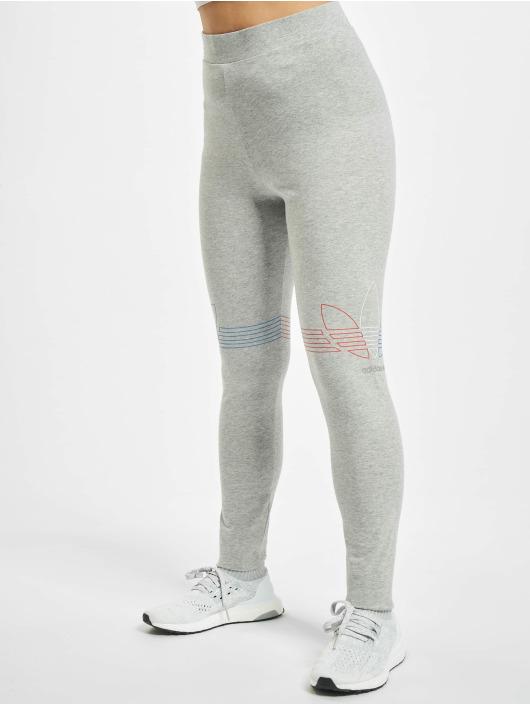 adidas Originals Леггинсы Originals серый