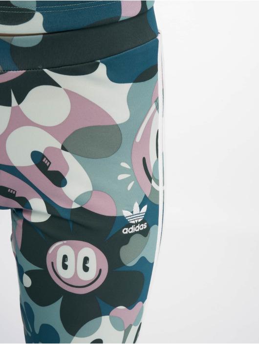 adidas originals Леггинсы 3 Stripes цветной