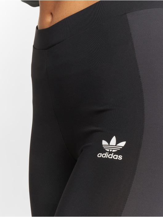 adidas originals Леггинсы Stripes черный