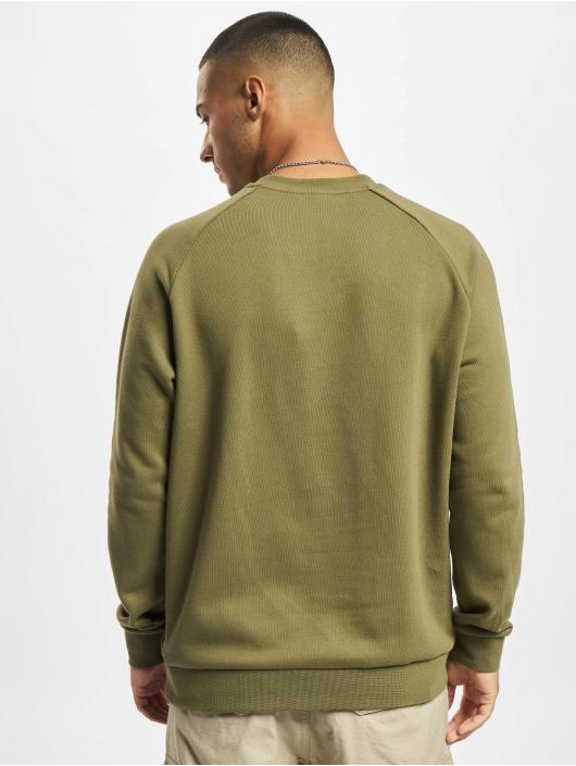 adidas Originals Пуловер Trefoil Crew зеленый